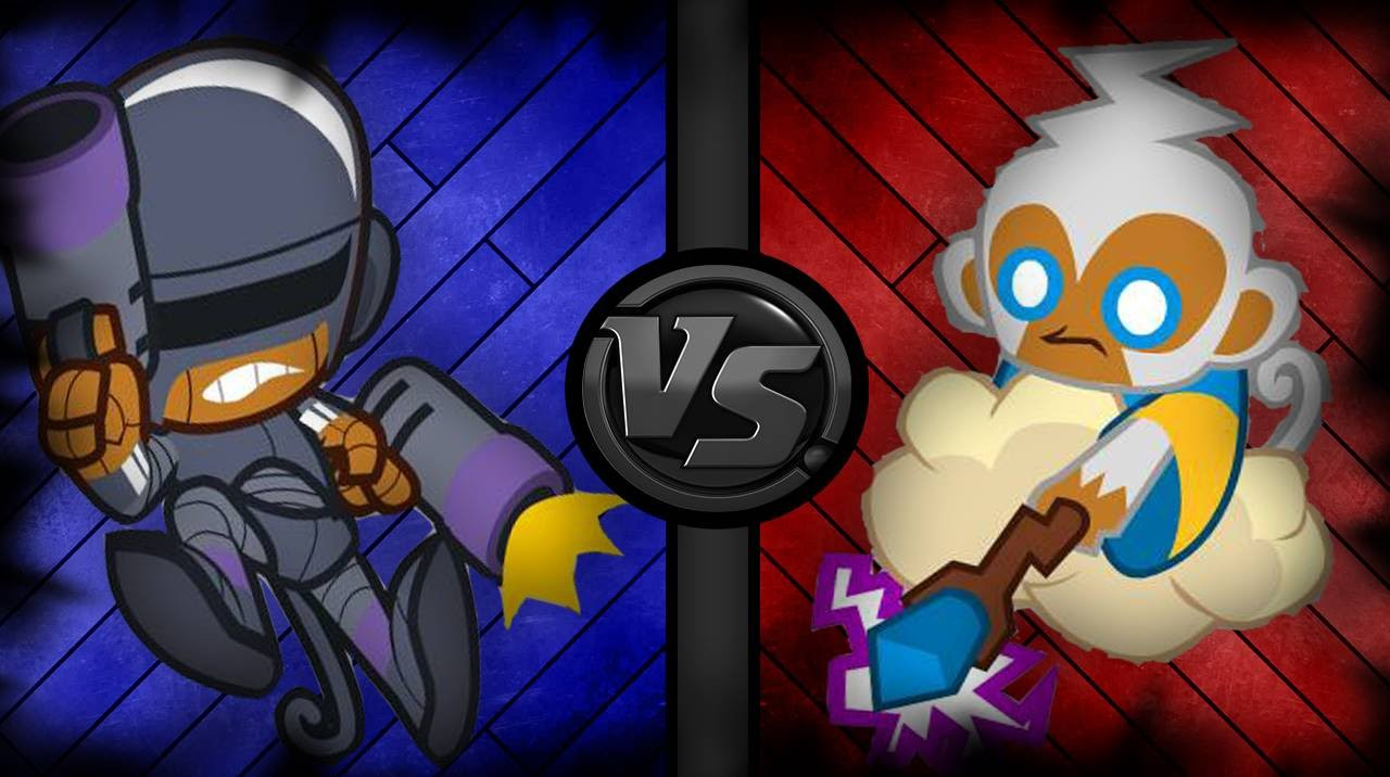 Tower Battles 6 Super Monkey Vs Monkey Apprentice