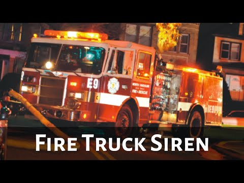 fire truck siren circuit for model and r/c emergency vehicles