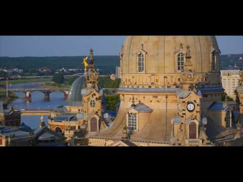 A Bird's Eye View of Dresden, Germany   Dresden aus der Vogelperspektive