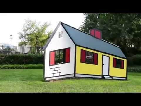 Roy Lichtenstein House Illusion - YouTube