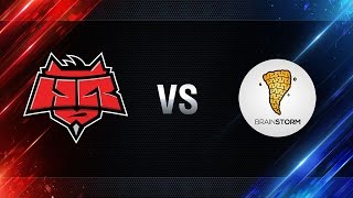 Brain Storm vs HellRaisers - day 3 week 7 Season I Gold Series WGL RU 2016/17