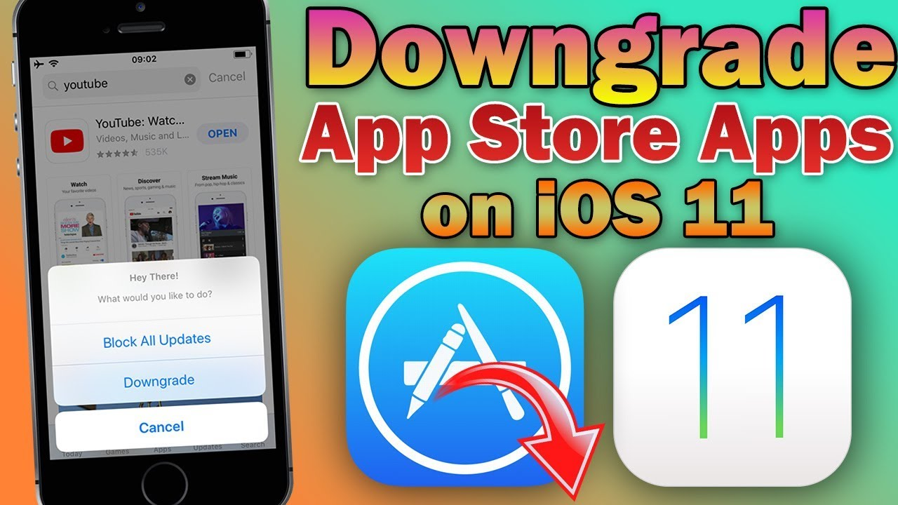 How to Downgrade App Store Apps to Earlier Versions on iOS 11