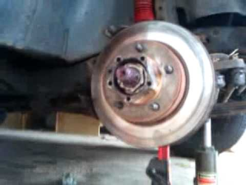 Jeep CJ7 wheel u-joint repair PART 5 of 5