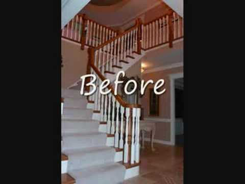 Jusalda,stair Remodel,iron Balusters,custom Stair   YouTube