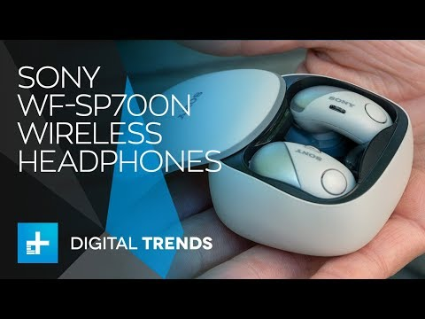Sony WP SP700N Headphones - Hands On Review