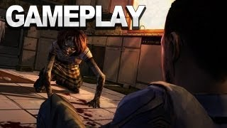 The Walking Dead: The Game - Zombie Babysitter Gameplay