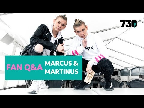 FAN Q&A WITH MARCUS & MARTINUS ♥ (730.NO)