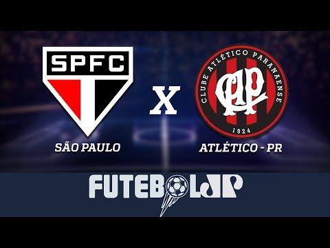 São Paulo x Atlético PR- 20/10/18