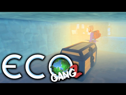 GangZ Eco - Multiplayer Eco Gameplay - Inside Biffa's Underground Survival Bunker!
