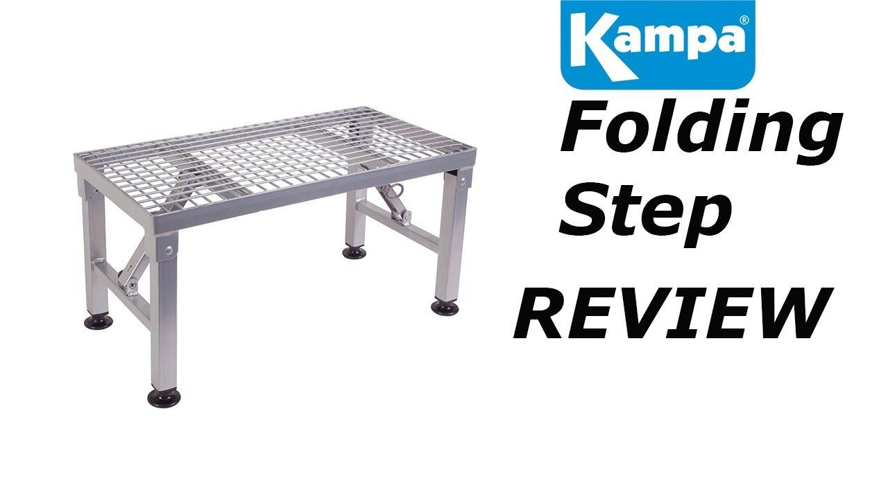 Kampa Folding Double Quick Caravan Steel Step