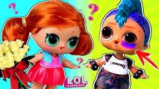 Скейти В ШОКЕ! ПАНКИ ПОДРАЛСЯ с Витчи из-за Марии! Мультик про куклы лол сюрприз LOL dolls