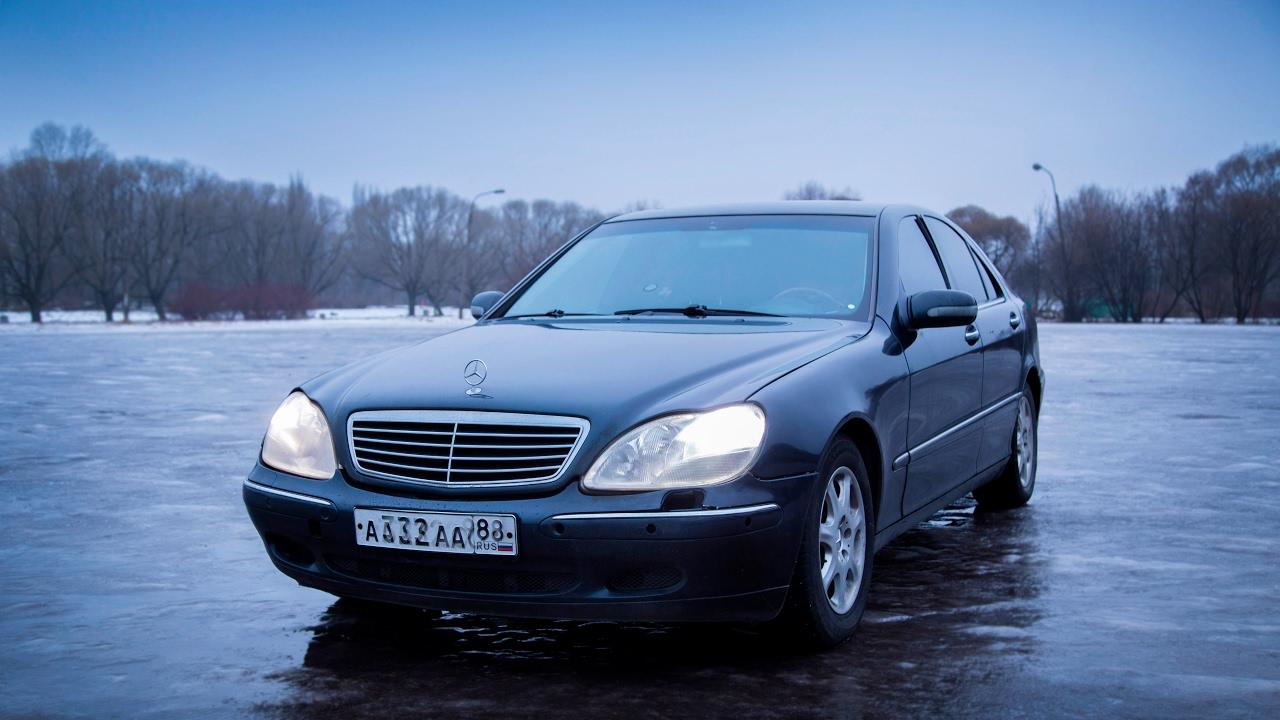 Очень крутой дрифт на Mercedes-Benz W140! | Very cool drift on the .