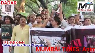 """MUMBAI TIMES: Huge numbers of animal activists, animal lover, ngo's and general public attended """"Glo"""