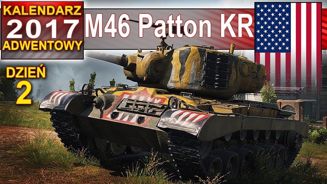 M46 Patton KR – kalendarz adwentowy dzień 2 – World of Tanks