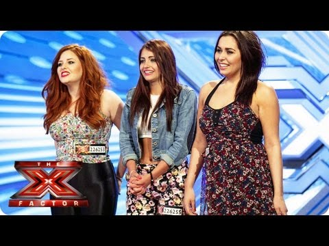 The Daisy Chains sing Stop In The Name Of Love  Room Auditions Week 4  The X Factor 2013