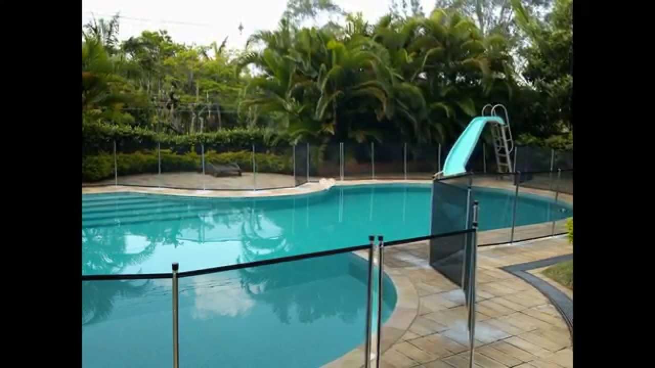 Cerca para piscina e rede de prote o para instalar ligue for De k piscina