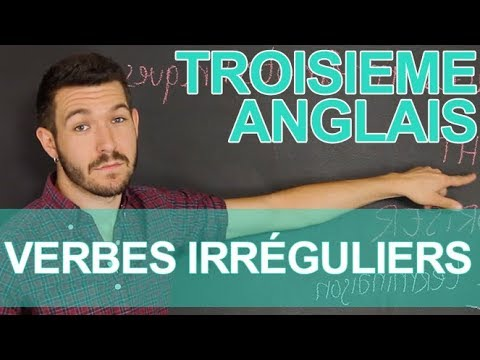 Les Verbes Irreguliers Anglais 3e Les Bons Profs Youtube