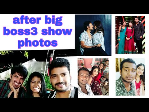 Big boss 3 telugu contestants after big boss show photos party  after big boss 3 telugu show