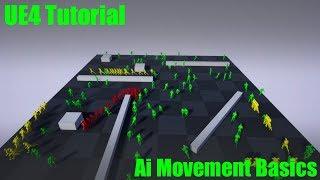 (UE4 Öğretici)UE4 Aı Hareket Temelleri