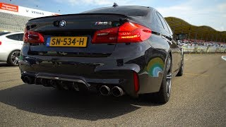 780HP BMW M5 F90 STAGE 2 with Akrapovic Catless Downpipes!