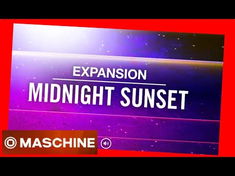 MIDNIGHT SUNSET Vintage Synth-Soaked FUNK Expansion All Kits - Native Intruments Demo