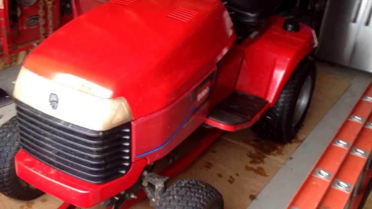 Toro Wheel Horse 520lxi 5xi Series Garden Tractor With