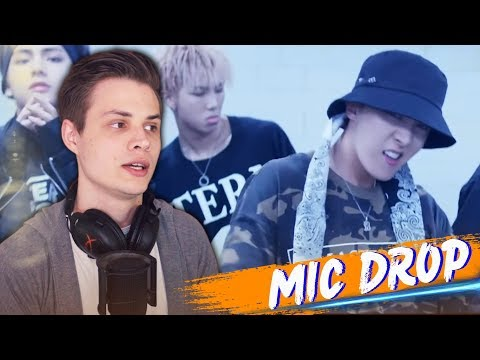 BTS - MIC Drop (Steve Aoki Remix) РЕАКЦИЯ