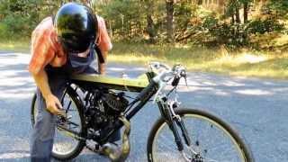 Test 50ccm Fahrrad