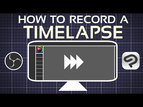 How to record a TIMELAPSE using OBS or Clip Studio Paint's timelapse feature
