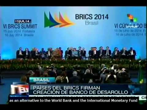 BRICS sign Development Bank founding treaty