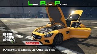 GTA 5 Mods #13 [GER] | Mercedes AMG GTS | Crash Test | Download!!