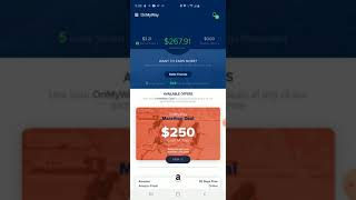 OnMyWay App $267.91 In The First Month GET PAID FOR SAFE DRIVING Link Below