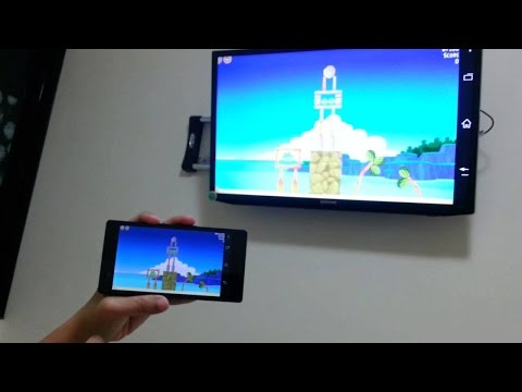 How To Connect Sony Bravia Led TV With Samsung Mobile Via Screen Mirroring .