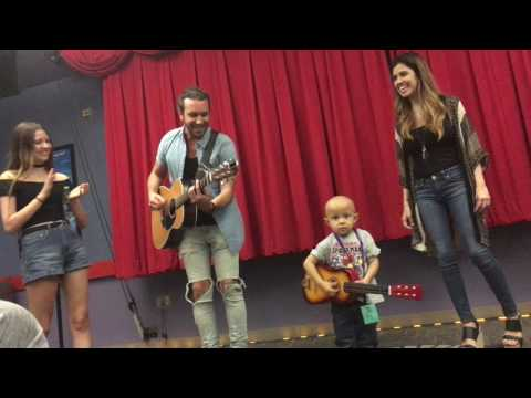 Edgar: Family Band from America's Got Talent plays original song with Children's Hospital Patient
