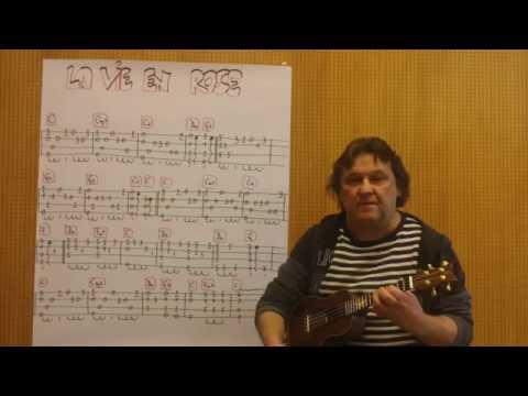 Fingerstyle Ukulele Lesson 190 La Vie En Rose Edith Piaf Youtube