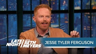 Jesse Tyler Ferguson on Watching the Modern Family Kids Grow Up - Late Night with Seth Meyers