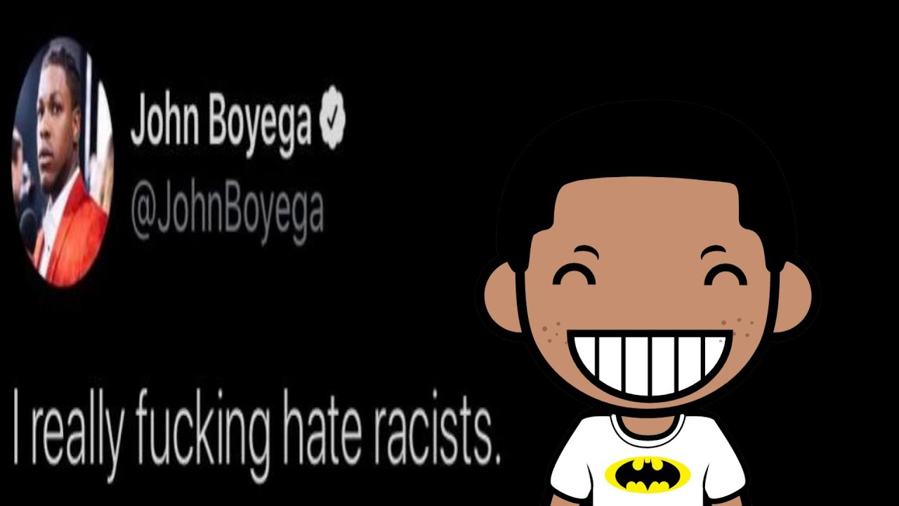 John Boyega Needs You to Know That He Really Hates Racists
