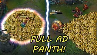 FULL AD PANTHEON !!! WET DREAM + INSANE DAMAGE! [ League of Legends ]