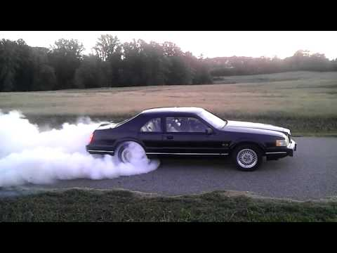Lincoln Mark Vii Se Burn Out Youtube