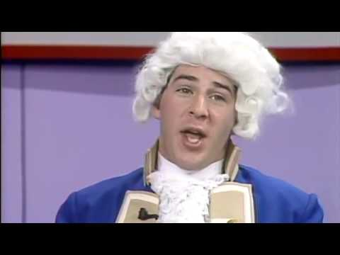 To Tell The Truth spoof with George Washington!  Funny!