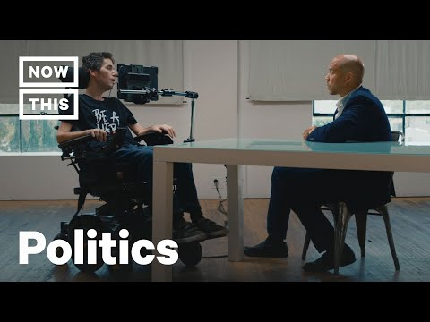 Cory Booker Faces Blunt Health Care Questions From Ady Barkan | Uncovered | NowThis thumbnail