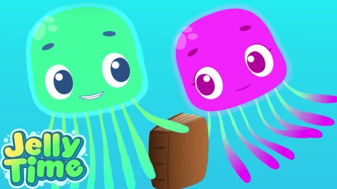 Hide And Go Seek!? - Jelly Time! NEW Season 2   Underwater Adventures   WildBrain Preschool for Kids