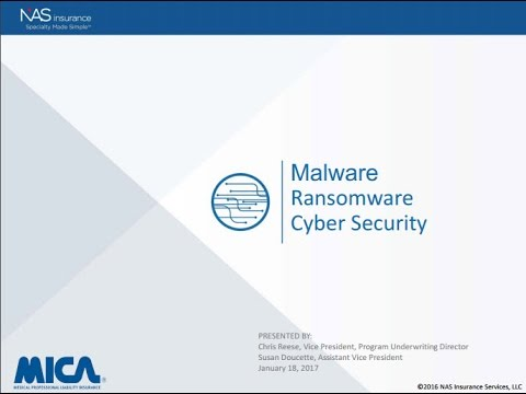 Lunch & Learn: Ransomware Malware and Cyber Security