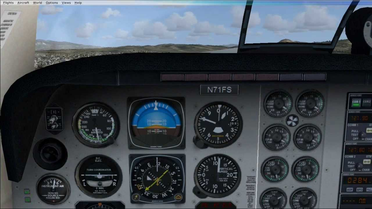 Flight Simulator X: GPS and Autopilot Tutorial Beechcraft Baron 58
