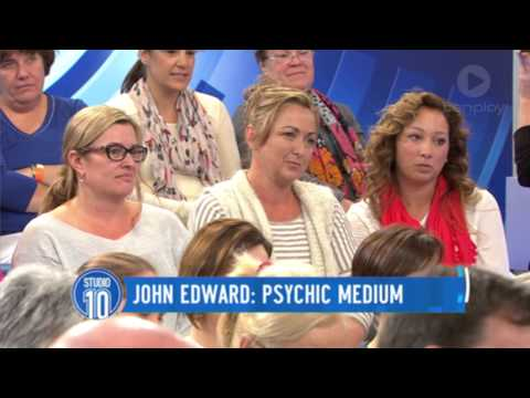 John Edward Readings | Studio 10