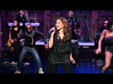 Nelly Furtado - Maneater (Live @ Late Show With David Letterman) [HD]