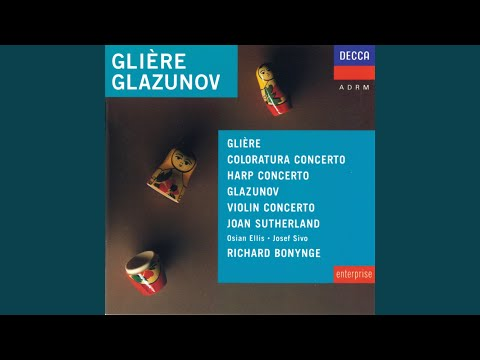 Glazunov: Violin Concerto in A minor, Op.82 - 3. Allegro