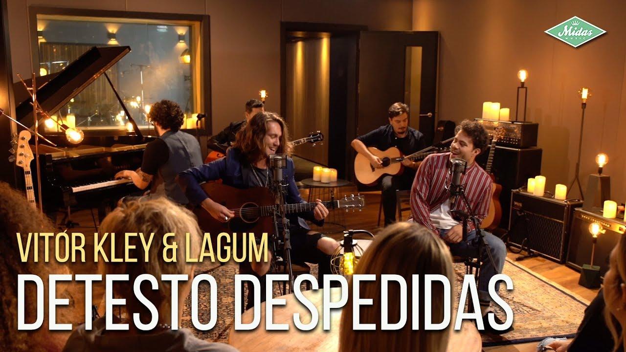 Vitor Kley & Lagum - Detesto Despedidas (Microfonado)
