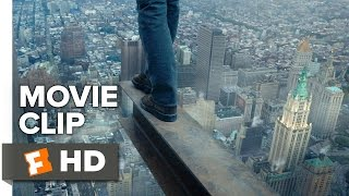 The Walk Movie CLIP - Edge of the Void (2015) - Joseph Gordon-Levitt, Ben Kingsley Movie HD