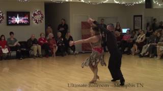 Salsa Dance Performance at Ultimate Ballroom Dance Studio in Memphis